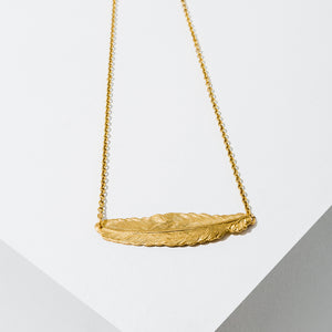 Larissa Loden Jewelry - In Fine Feather Necklace