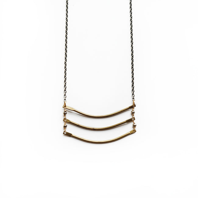 Larissa Loden Jewelry - Parallel Bars Necklace