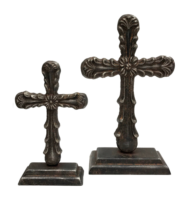 Guadalupe Iron Table Cross
