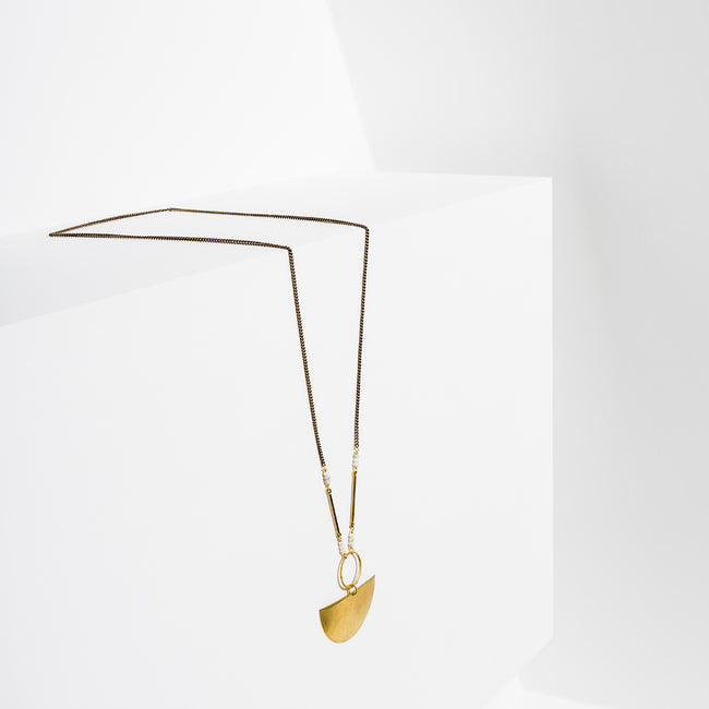 Larissa Loden Jewelry  - Moonscape Necklace
