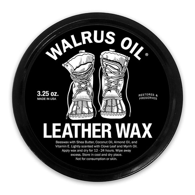 Walrus Oil - Leather Wax, 3.25 oz