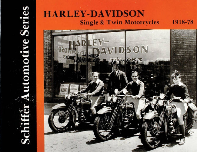 Harley-Davidson Single & Twin Motorcycles 1918-1978