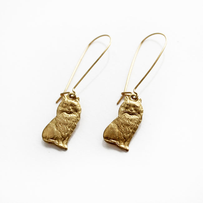 Larissa Loden Jewelry - Kitty Cat Earrings
