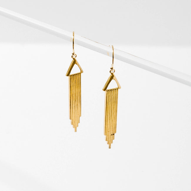 Larissa Loden Jewelry - Raining Bar Earrings