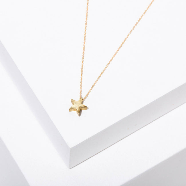 Star Necklace - Gld