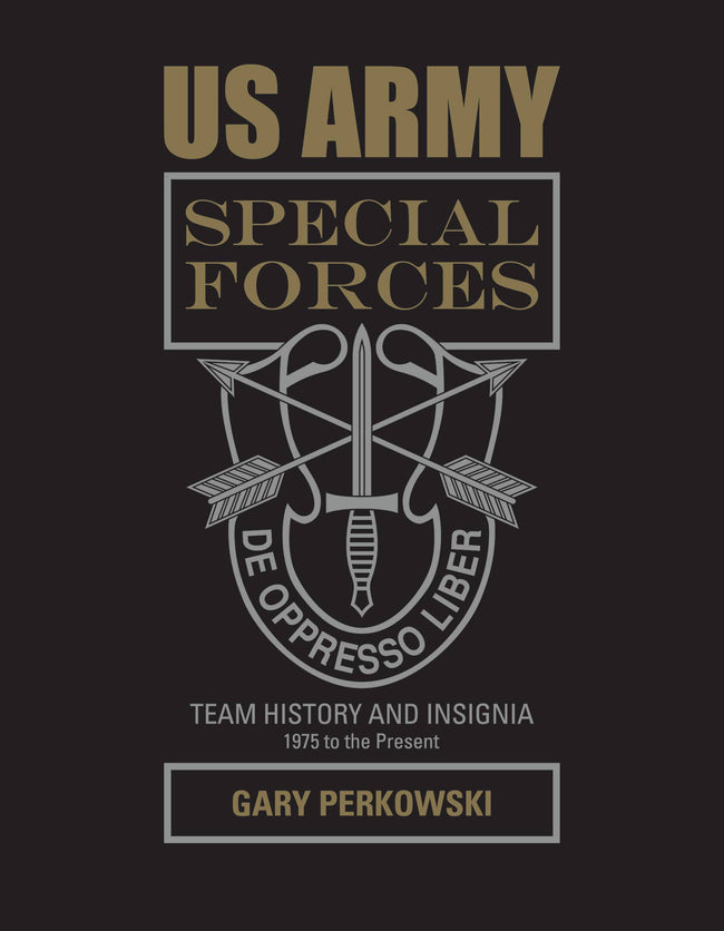 US Army Special Forces Team History and Insignia 1975