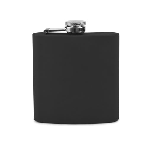 TRUE - Black Soft Touch Flask by True