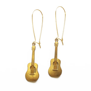 Larissa Loden Jewelry - Acoustic Guitar Earrings