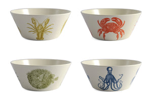 Sealife Small Bowls Set of Four