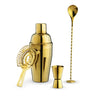 TRUE - Gold Barware Set by True