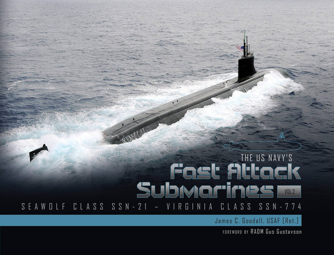 Schiffer Military - The US Navy's Fast-Attack Submarines, Vol. 2