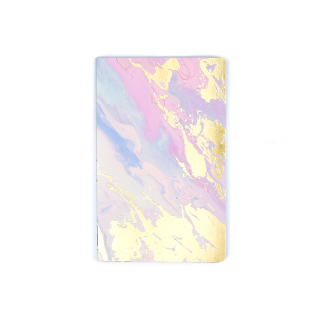Melted Marble Layflat Journal