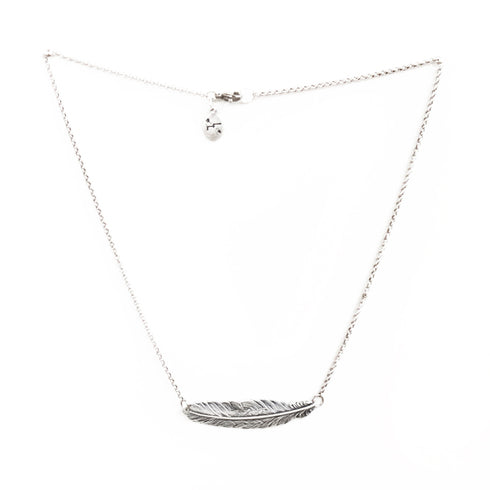 Larissa Loden Jewelry  - In Fine Feather Necklace - Silver