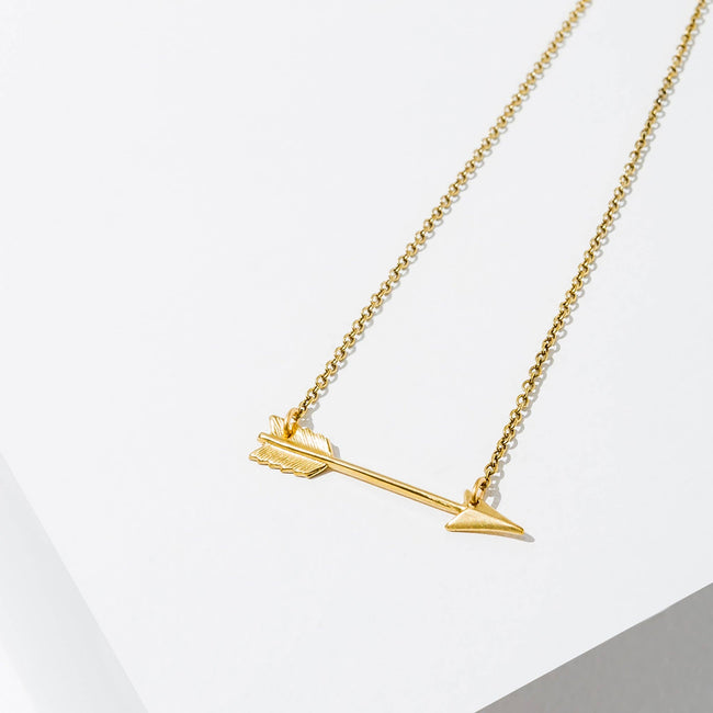 Larissa Loden Jewelry - Small Arrow Necklace