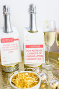 Chez Gagné - Ho In Holiday Wine & Spirit Tag - Singles