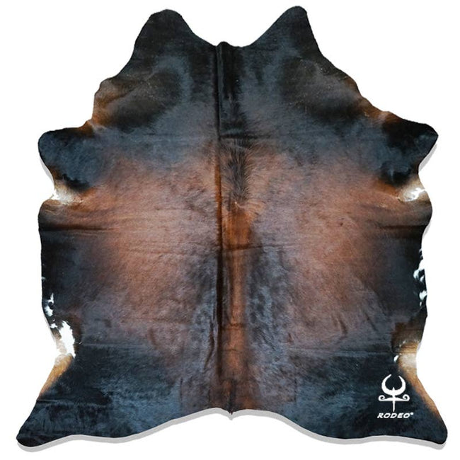 Brazilian Longhorn  Cowhide Rug Extra  Large size 7x8