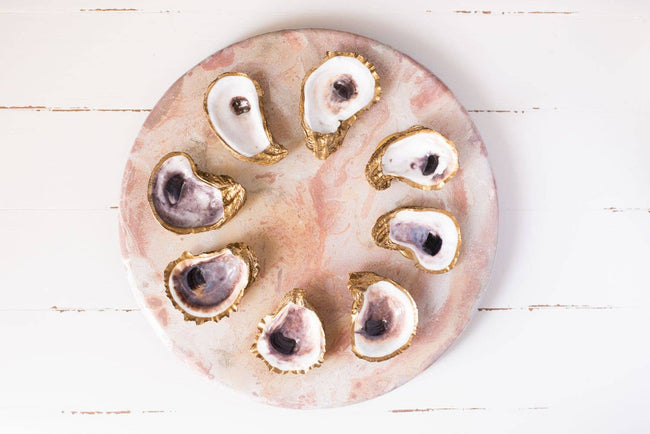 Grit and Grace Studio - Oyster Jewelry Dish