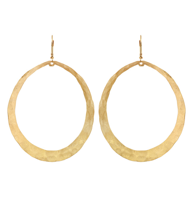 We Dream in Colour - Meli Gold Earrings