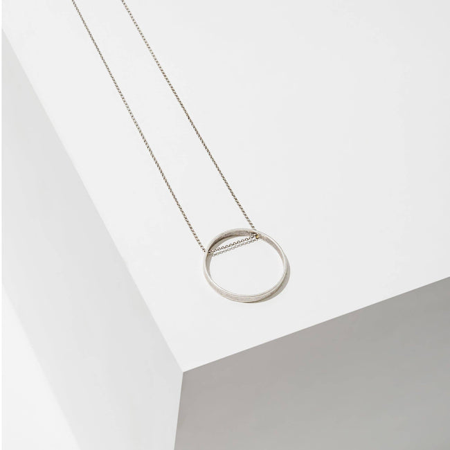 Larissa Loden Jewelry - Circle Horizon Necklace