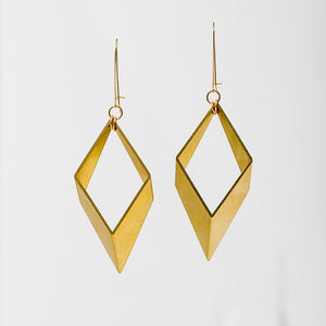 Larissa Loden Jewelry - Large Open Brass Earrings