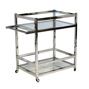 Bohemian Table Cart Stainless-Steel