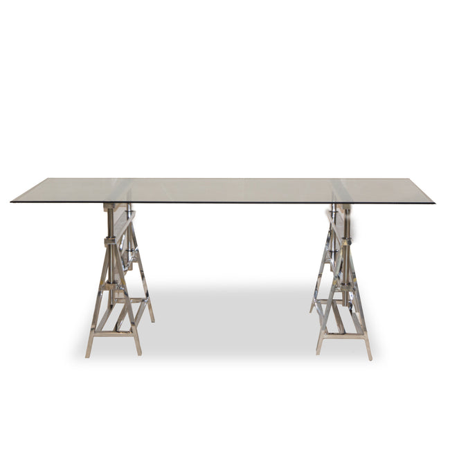 Eiffel Dining Table Stainless-Steel