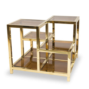 Factors Walk Table Gold-Plated