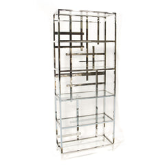 Forsyth Bookcase Silver