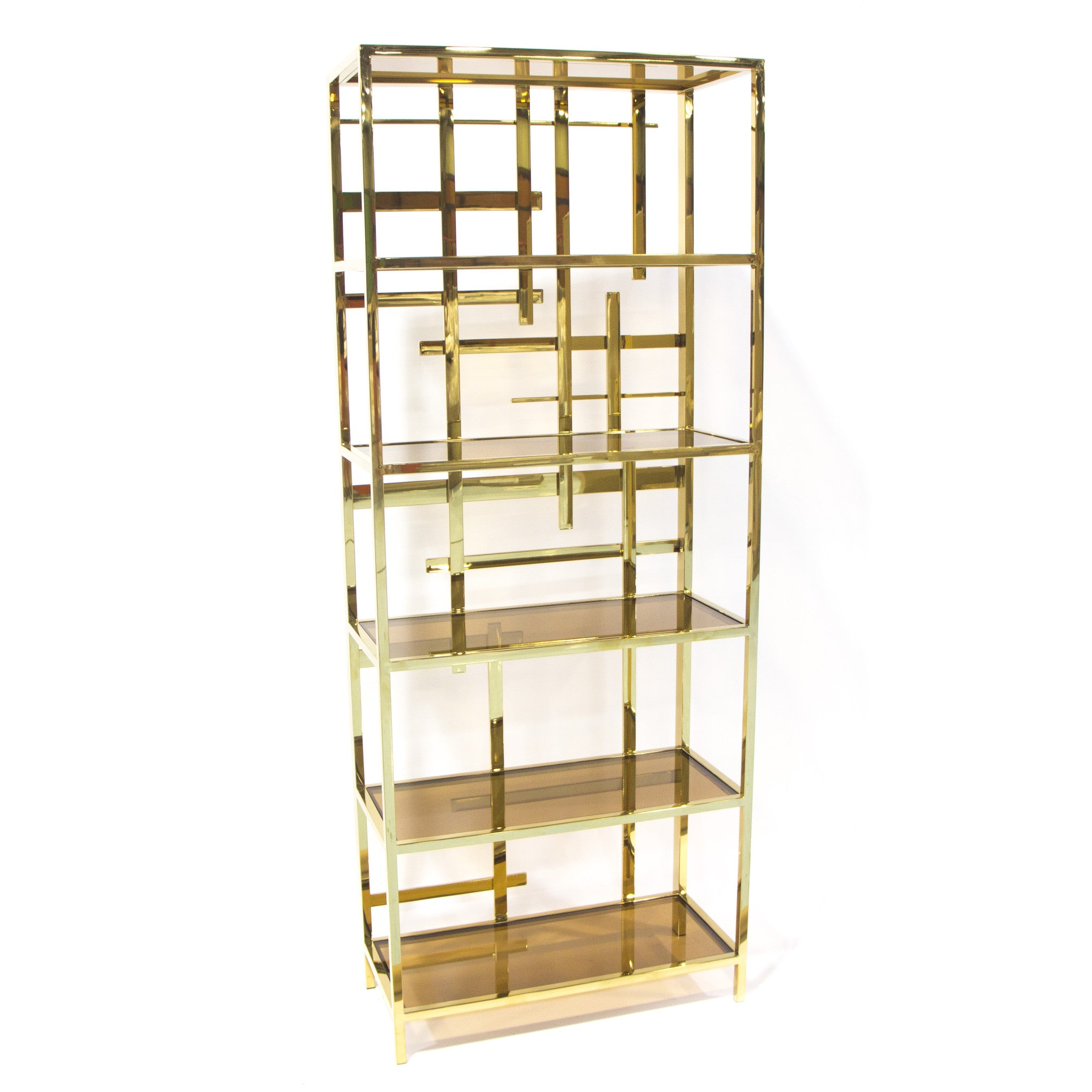 shelving home gold custom bookshelf with glass made kitchen pin bookcase