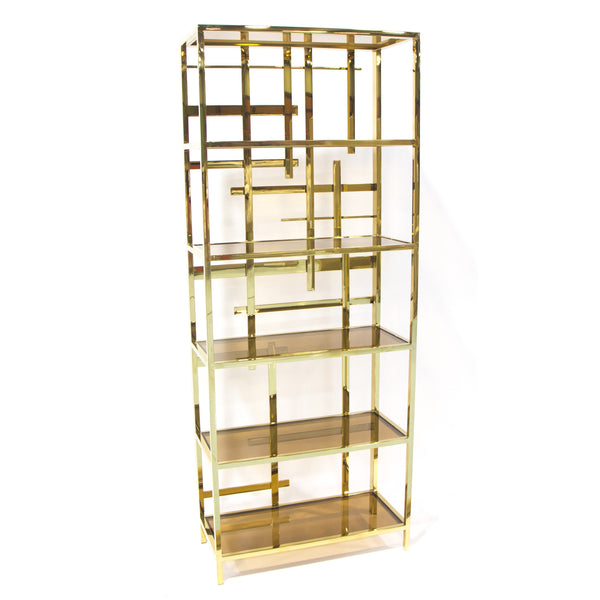 Forsyth Bookcase Gold