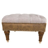 Square Lodge Stool