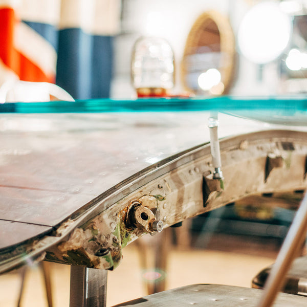 24e Airplane Dining Table