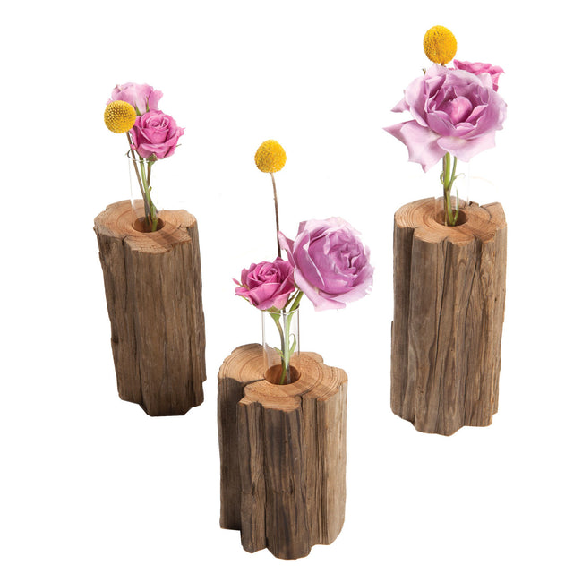 savannah local matt gilligan | driftwood vases | table decor |