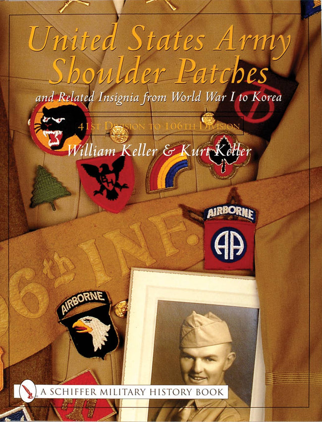 United States Army Shoulder Patches and Related Insignia