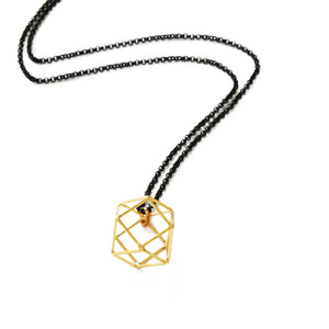 Larissa Loden Jewelry - Hexagram Necklace