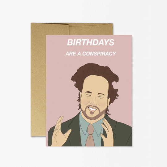 Party Mountain Paper co. - Aliens Birthday Card