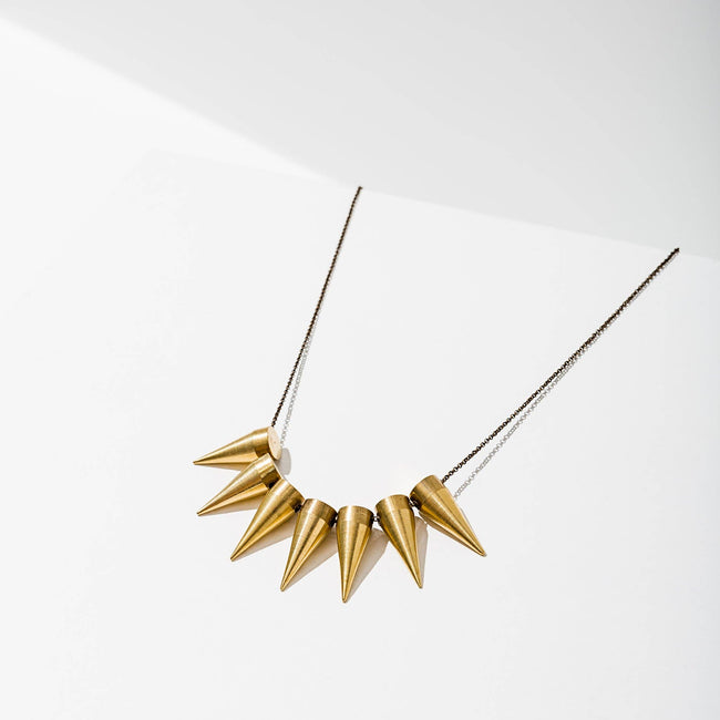Larissa Loden Jewelry - 7 Spike Necklace