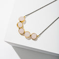 Larissa Loden Jewelry - Alignment Necklace in Brass