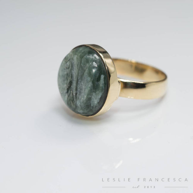 Leslie Francesca Designs - Seraphinite Rings