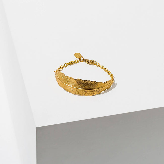 Larissa Loden Jewelry - Feather Cuff Bracelet