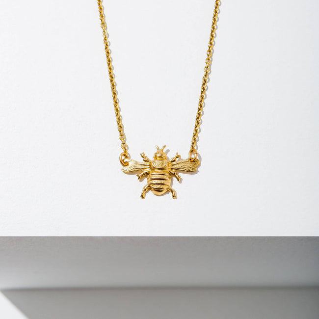 Larissa Loden Jewelry - Mini Bee Necklace