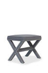 Leah Stool Charcoal Grey