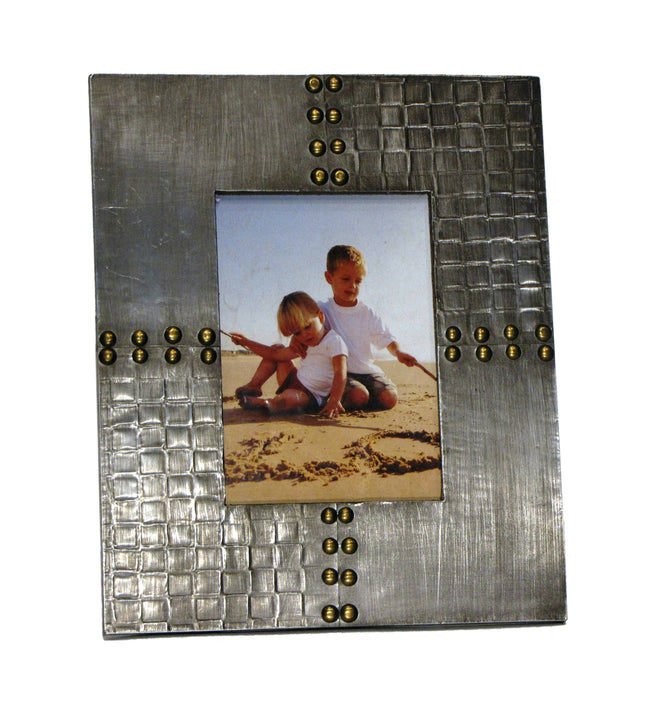 Rivet Wooden Photo Frame
