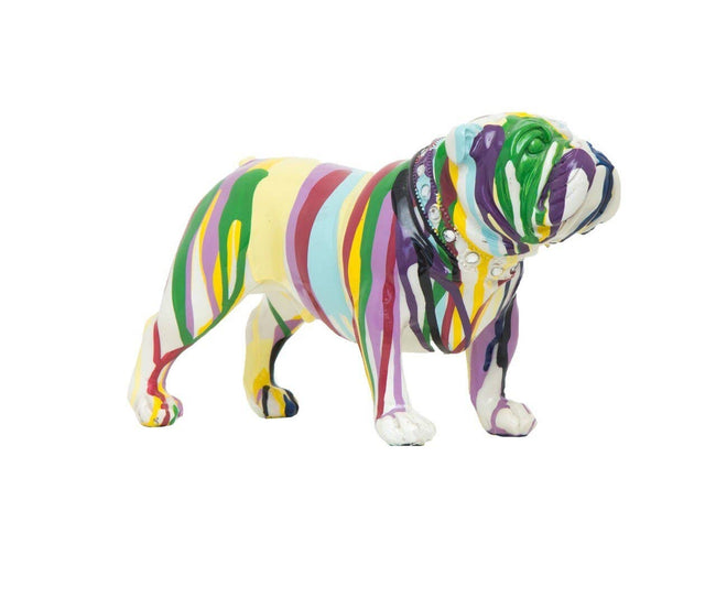 "Graffiti Bulldog  - 10"" long"