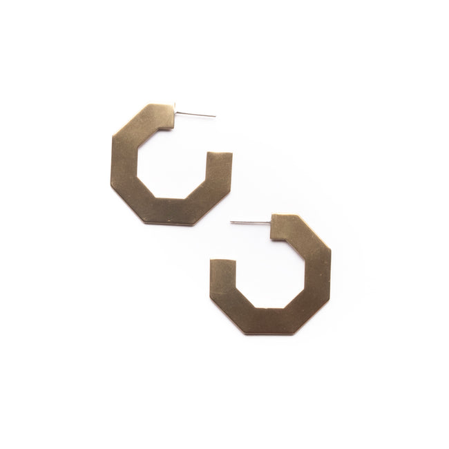 Michelle Starbuck Designs - Hexagon Hoops