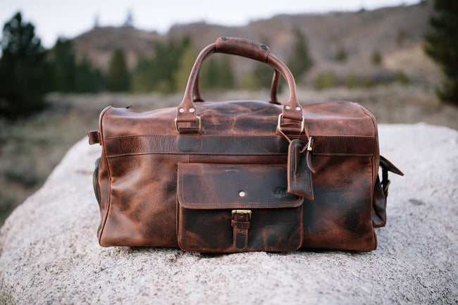 Kodiak Leather - 60L Weekender Duffel