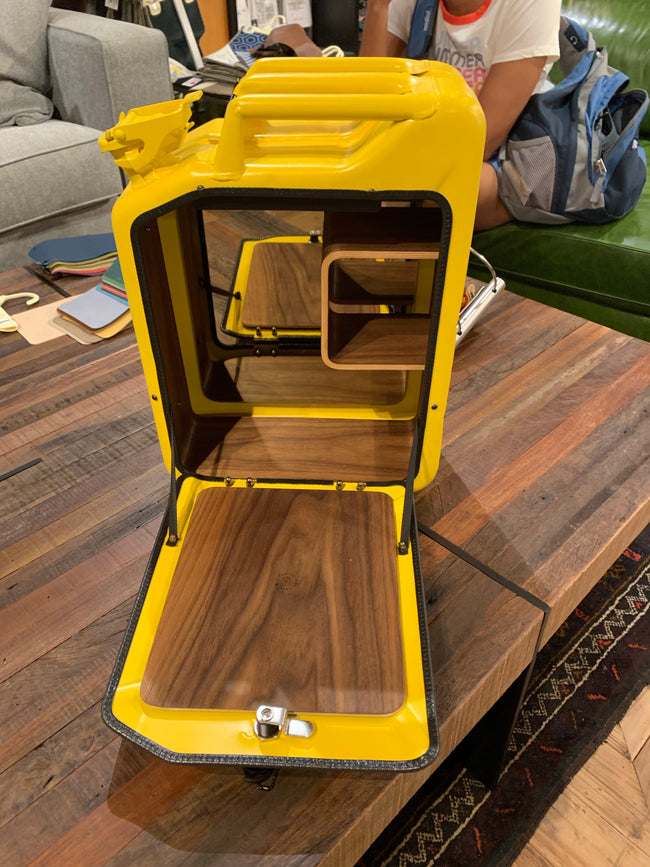 Yellow Jerry Can Cabinet