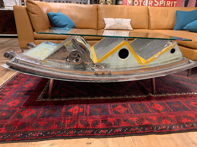 Aircraft Cocktail Coffee Table