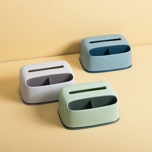 Desktop Tissue Box Organizer