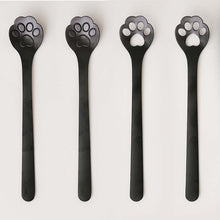 Load image into Gallery viewer, Cat Claw Spoons, Set of 4